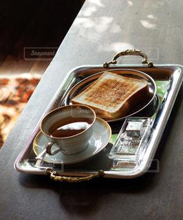 シンプルな朝食の写真・画像素材[3200318]