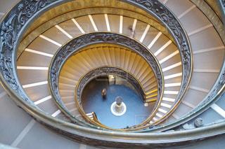 螺旋階段の写真・画像素材[1270925]