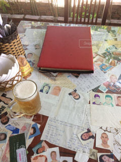テーブルの写真・画像素材[589971]