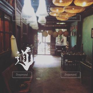 近くのレストランの写真・画像素材[845389]