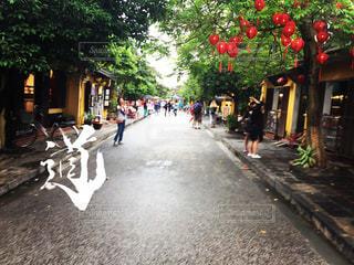旧市街の道の写真・画像素材[891815]