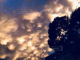 空の雲の写真・画像素材[1391563]