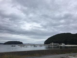 海辺の街の写真・画像素材[821389]