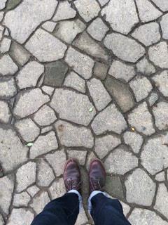 足元の写真・画像素材[578126]