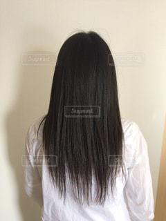 髪型の写真・画像素材[1111361]