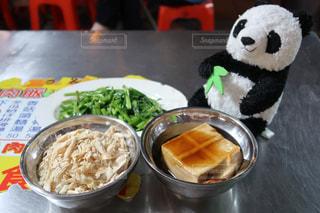 台湾夜市で食べた鶏肉飯の写真・画像素材[1501013]