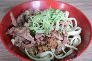 台湾で食べた牛肉麺の写真・画像素材[1501016]