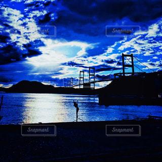水の大きな体の写真・画像素材[909436]
