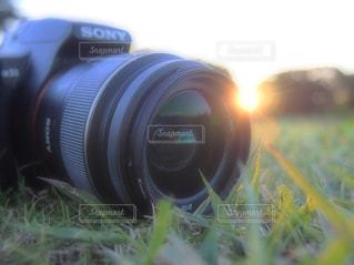 クローズ アップ カメラのの写真・画像素材[1194834]