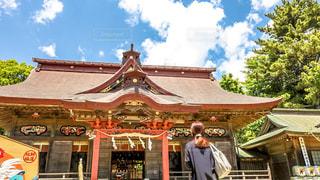 神社の写真・画像素材[581943]