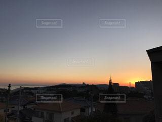 夕日の写真・画像素材[582759]