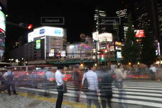 夜の都会の写真・画像素材[851609]
