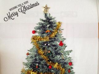 クリスマスツリーの壁面飾りの写真・画像素材[887669]