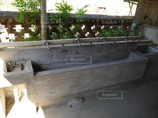 水飲み場の写真・画像素材[592506]