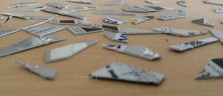 裁断されたクレジットカードの写真・画像素材[2335899]