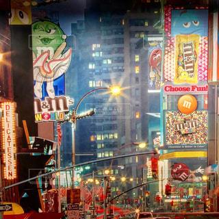 m&msタイムズスクエアの写真・画像素材[790812]