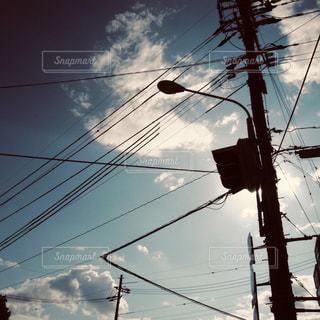 ラインの写真・画像素材[2255778]