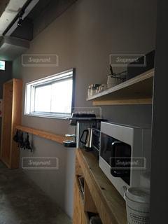 キッチンのビューの写真・画像素材[1123102]