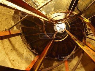 近くに金属鍋のアップの写真・画像素材[858404]
