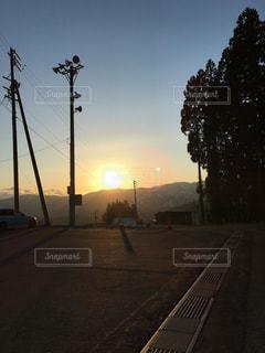 夕日の写真・画像素材[590210]