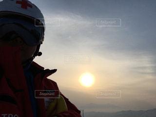 夕日の写真・画像素材[594583]