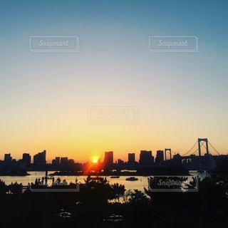 夕日の写真・画像素材[648266]