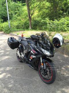 バイクの写真・画像素材[592593]