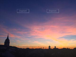 夕日の写真・画像素材[591224]