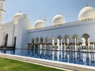 シェイク ・ ザーイド ・ モスクの写真・画像素材[1108255]