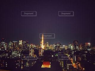 東京タワーの写真・画像素材[593360]