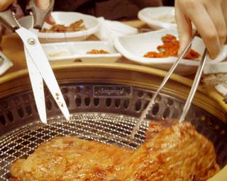 韓国の焼肉の写真・画像素材[1421714]
