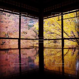 大きな窓の景色の写真・画像素材[939859]