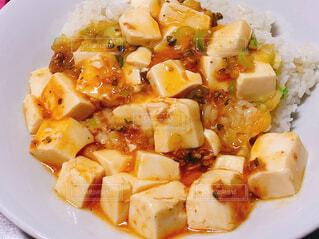 麻婆豆腐の写真・画像素材[4557586]