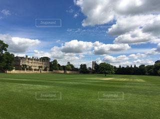 オックスフォードの風景の写真・画像素材[598136]