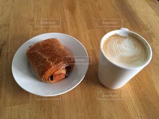 朝カフェの写真・画像素材[598232]