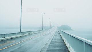 能登島大橋の上での写真・画像素材[2256229]