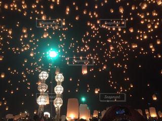 夜景の写真・画像素材[595898]