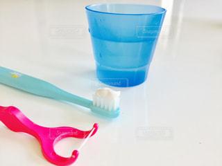 歯ブラシの写真・画像素材[602342]