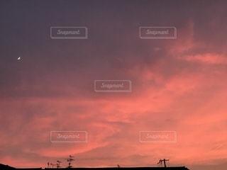 夕焼け空の写真・画像素材[1437589]