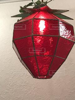 苺のランプの写真・画像素材[1653879]