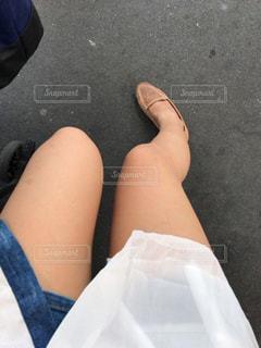 女性脚の写真・画像素材[604432]