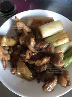 食品のプレートの写真・画像素材[1017619]