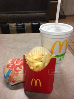 ハンバーガーの写真・画像素材[599084]