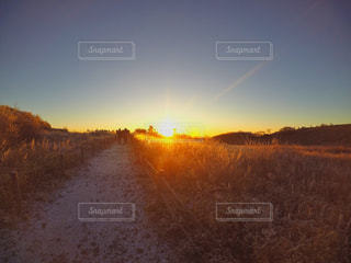 日の出へ向かう時。の写真・画像素材[1225885]