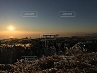 駒ヶ岳山頂の写真・画像素材[1225889]