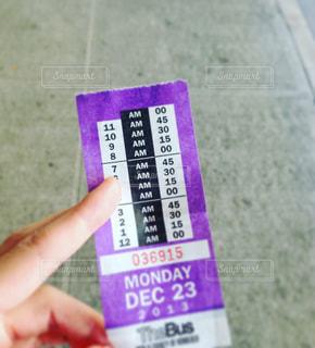 チケットの写真・画像素材[650285]