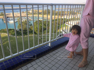 パジャマの女の子の写真・画像素材[1067199]