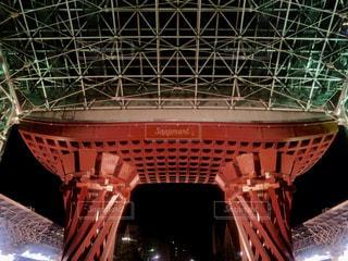 金沢駅ライトアップされたの写真・画像素材[1748884]