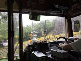 仙台市内を走る観光用循環バスの写真・画像素材[646861]