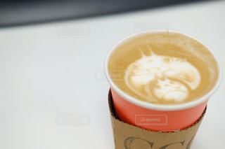 一杯のコーヒーの写真・画像素材[750321]